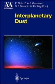 Interplanetary Dust (Astronomy and Astrophysics Library) by