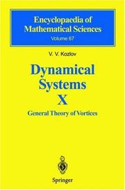 Dynamical Systems X