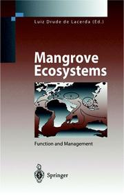 Cover of: Mangrove ecosystems |