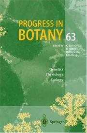 Progress in Botany / Volume 63 (Progress in Botany) by