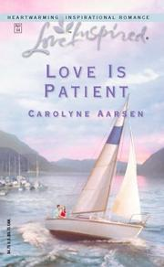 Cover of: Love is patient