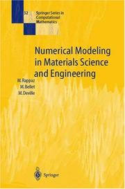 Cover of: Numerical modeling in materials science and engineering | Michel Rappaz