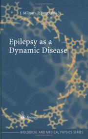 Cover of: Epilepsy as a Dynamic Disease |