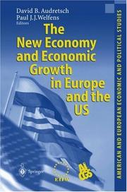 Cover of: The New Economy and Economic Growth in Europe and the US (American and European Economic and Political Studies) |
