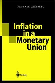Cover of: Inflation in a Monetary Union