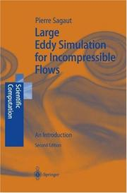 Cover of: Large Eddy Simulation for Incompressible Flows | P. Sagaut
