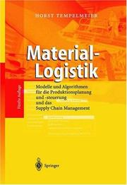 Cover of: Material-Logistik