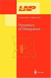 Cover of: Dynamics of dissipation