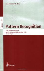Cover of: Pattern Recognition | Luc Van Gool