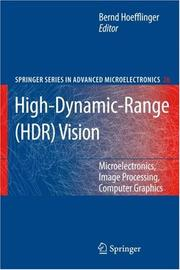 Cover of: High-Dynamic-Range (HDR) Vision | B. Hoefflinger