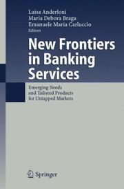 Cover of: New Frontiers in Banking Services |