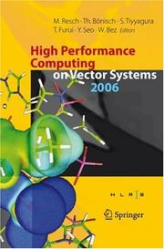 Cover of: High Performance Computing on Vector Systems 2006 |