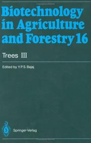 Cover of: Trees III