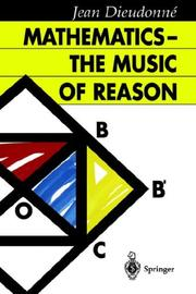 Cover of: Mathematics - The Music of Reason