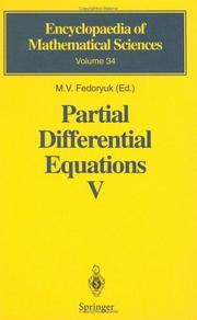 Partial Differential Equations V