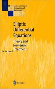 Cover of: Elliptic differential equations