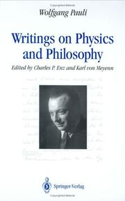 Cover of: Writings on physics and philosophy