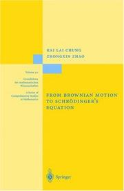 Cover of: From Brownian motion to Schrödinger's Equation