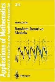 Cover of: Random Iterative Models (Stochastic Modelling and Applied Probability)