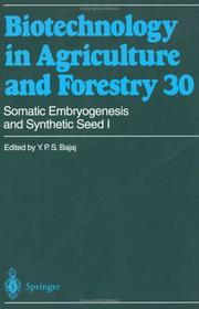 Cover of: Somatic Embryogenesis and Synthetic Seed I