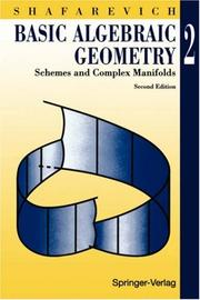 Cover of: Basic Algebraic Geometry 2 | Igor R. Shafarevich