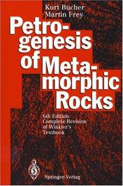 Petrogenesis of Metamorphic Rocks by