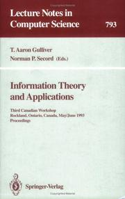 Information Theory and Applications by