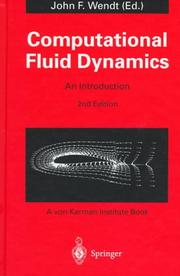 Cover of: Computational fluid dynamics