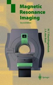 Cover of: Magnetic resonance imaging
