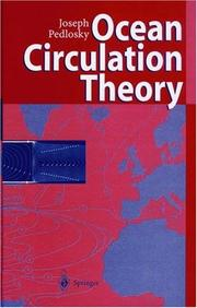 Cover of: Ocean Circulation Theory