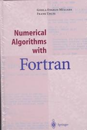Cover of: Numerical algorithms with Fortran