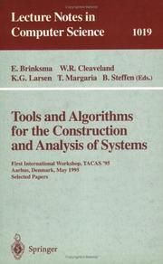 Tools and algorithms for the construction and analysis of systems by TACAS '95 (1995 Århus, Denmark)