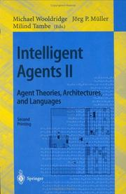 Cover of: Intelligent agents II |