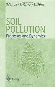 Cover of: Soil pollution