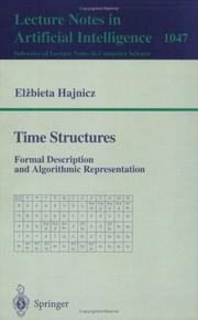 Cover of: Time structures