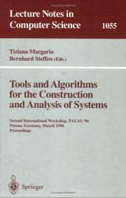 Tools and algorithms for the construction and analysis of systems by TACAS '96 (1996 Passau, Germany)