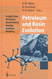 Cover of: Petroleum and Basin Evolution |