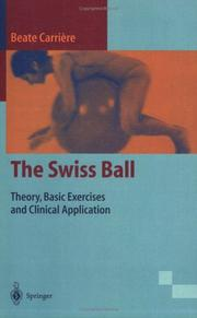 Cover of: Swiss ball | Beate Carriere