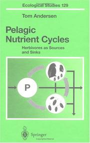 Cover of: Pelagic nutrient cycles