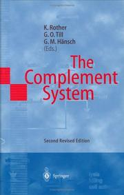 Cover of: The complement system |