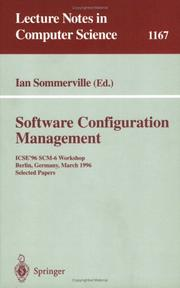 Cover of: Software configuration management