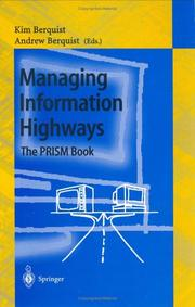 Cover of: Managing information highways |