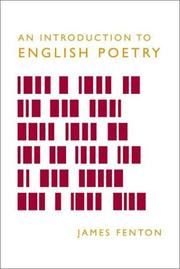 Cover of: An Introduction to English Poetry