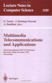 Cover of: Multimedia telecommunications and applications