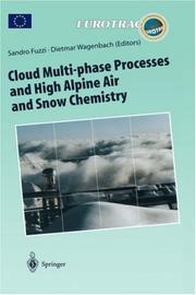 Cover of: Cloud Multi-phase Processes and High Alpine Air and Snow Chemistry |