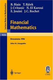Cover of: Financial Mathematics | Bruno Biais