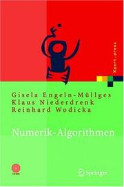 Cover of: Numerik-algorithmen by