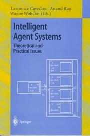 Cover of: Intelligent agent systems by