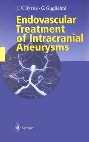 Cover of: Endovascular treatment of intracranial aneurysms