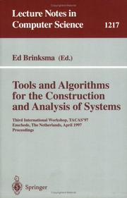 Cover of: Tools and Algorithms for the Construction and Analysis of Systems | Ed Brinksma